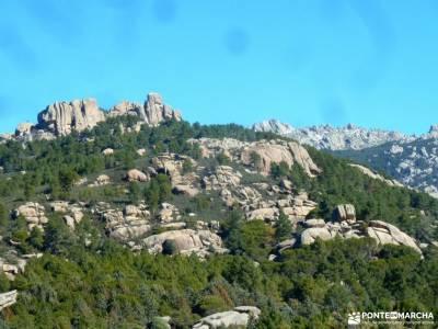 La Camorza-La Pedriza; camino smith navacerrada parque natural monte aloia garganta de los infiernos